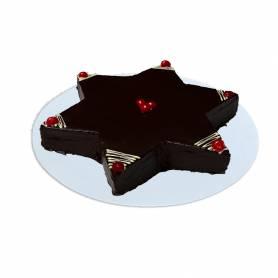 Estrella de chocolate